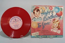 Peter Pan Record Happy Birthday #224.