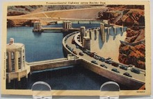Boulder Dam and Transcontinental Highway PC