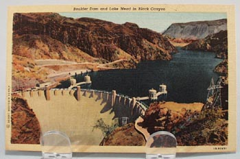 Boulder Dam & Lake Mead in Black Canyon PC