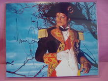 Rare Michael Jackson Autographed Photo Reprint