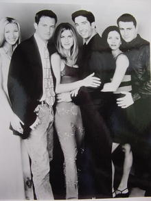 FRIENDS CAST OF 6 MEMBERS HAPPY EVERAFTER!