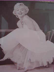 MARILYN MONROE IN TUTU DRESS