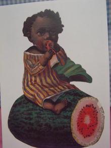 1900 BLACK PICKANINY BABY AD