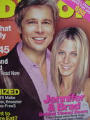REDBOOK,  JEN& BRAD PITT, TRUE LOVE IN HOLLYWOOD, EXC