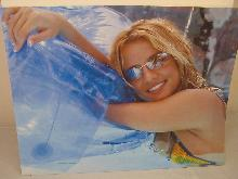 BRITNEY SPEARS IN THE POOL, PHOTO, REPRINT