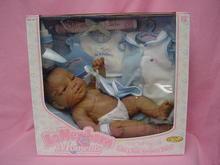 15in BERENGUER BLACK BABY LAYETTE SET, MIB