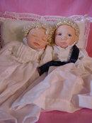 Kim & Kimberley, Porcelain Twins by Beth Kidd