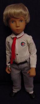 1970's Sasha Blonde Schoolboy, All Original