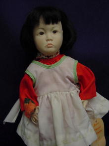 1980's Effanbee 13in Orange Blossom, All Original, Tagg