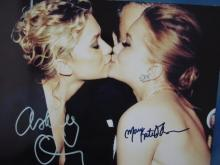MARY KATE AND ASHLEY OLSEN TWINS, SIGNED 8X10 REPRINT #2