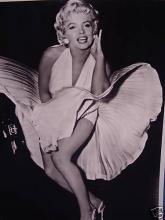 MARILYN MONROE, 8X10 PHOTO, FAMOUS SUBWAY SHOT!