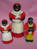 Vintage Black Memorabilia Aunt Jemima, S&P