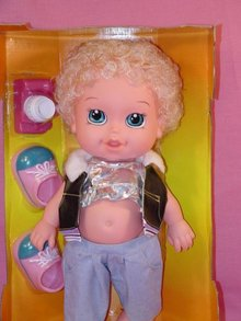 Contempo New Hair Baby, MIB, Mint in Box