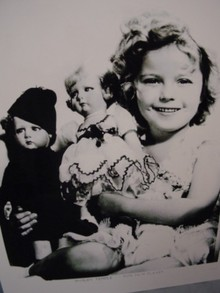 Shirley Temple and Lencis, Photo