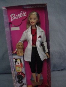 Pet Doctor BARBIE, MINT