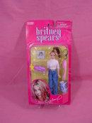 Britney Spears 2001 Play Along Doll, 6in , mint