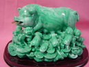 Feng Shui Wealth Pig w/ Babies for Prosperity & Happiness