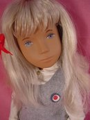 Vintage Blonde Sasha School Girl, Trenton, Eng,