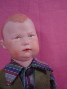 Vintage Heubach Repro Boy, All Porcelain