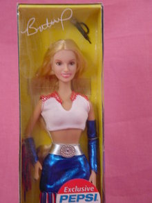 Britney Spears,Pepsi Commercial, 11/2in Doll, MIB