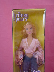 Rare Britney Spears, Crossroads Fashion, 11/2in Doll, MIB