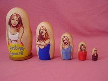 Britney Spears Artist Matrowska Dolls, Mint