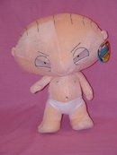 Stewie, From Family Guy, Plush Babydoll, Mint