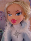 Exclusive BRATZ Winter Girl, Blonde/ Blue Outfit, MIB.