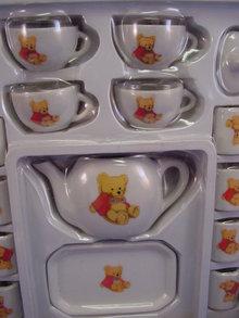 50 pc Collectible Play Bear Dish Set, MIB