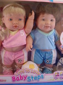 17in Berenguer Lots to Love Toddler Twins, MIB