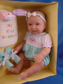 17in Berenguer Character Face Baby, MIB