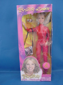 Britney Spears 11 Doll, red Pantsuit, MIB