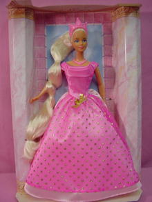 Rapunzel In Pink Barbie, Mint