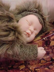 BABY HEDGEHOG BY ANNE GEDDES, MINT