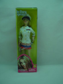 Britney Spears White Sailor Outfit,  11 1/2