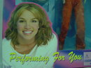 Rare Britney Spears, Orange Velvet Pantsuit, 11 1/2