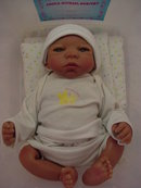 Nursery Baby Vinyl Doll by Sheila Michael,MIB