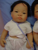 Baby Cheung and Ling Doll Set by Linda Murray, MIB