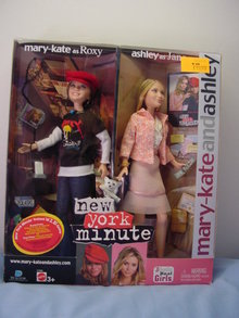 Mary Kate and Ashley Olsen Twins Dolls, New York Minute,MIB