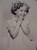 Young Shirley Temple 8X10 Photo 4, RP