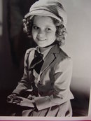 Collection of 4 Young Shirley Temple 8X10 Photos, RP