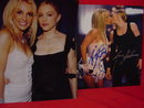 Madonna & Britney Kiss Photo Collection, Signed, RP