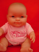 2 New Berenguer 8 in Vinyl Babies, New Dolls