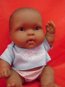Two (2) 8in Berenguer vinyl babies, New Dolls