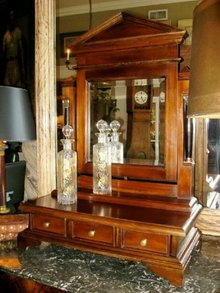 Gentleman's Dressing Mirror