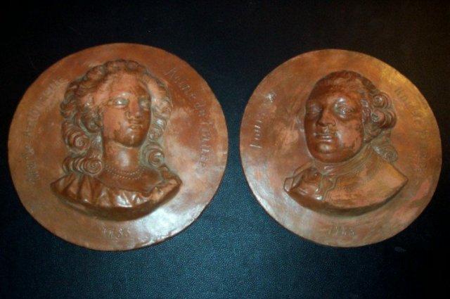Pr. Italian Terracota Plaques