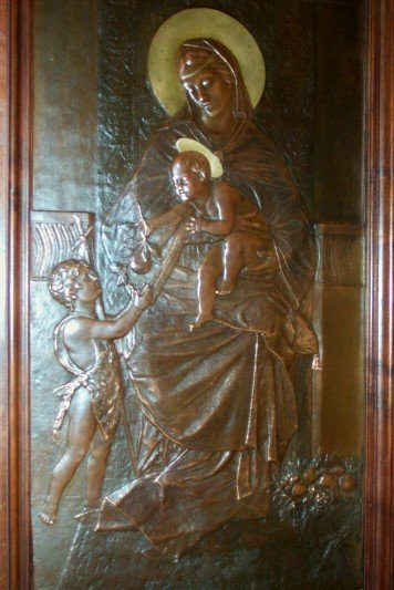 XIX Century Bronze Plaque