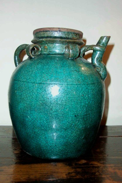 1900's Chinese Oil Jar