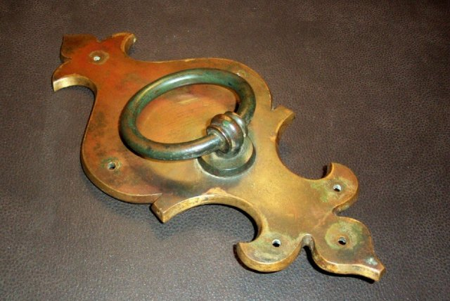 XIX Century Bronze Door Knocker