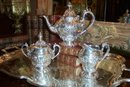 Silverplated Reed & Barton Tea Set